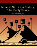 Mineral Nutrition History