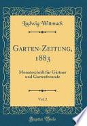 Garten-Zeitung, 1883, Vol. 2