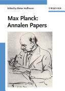 Max Planck: Annalen Papers