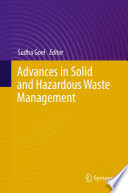 Book Cover: Advances in Solid and Hazardous Waste Management