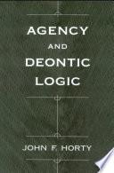 Agency and Deontic Logic Pdf/ePub eBook