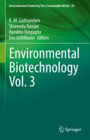 Environmental Biotechnology Vol  3