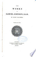 The Works of Samuel Johnson      A journey to the Hebrides  The vision of Thedodore  the hermit of Teneriffe  The fountains  Prayers and meditations  Sermons