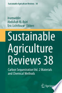 Sustainable Agriculture Reviews 38 Book PDF