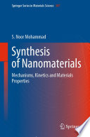 Synthesis of Nanomaterials Book