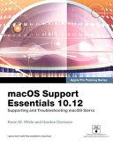 MacOS Support Essentials 10. 13