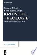 Kritische Theologie