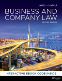 Cover of BUSINESS and COMPANY LAW Interactive Wiley E-Text: Powered by VitalSource