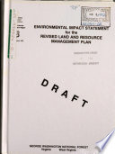 George Washington National Forest  N F    Revised Land and Resource s  Management Plan  LRMP