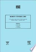 Robot Control 2003 (SYROCO '03)