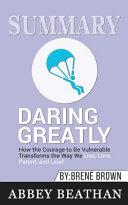 Summary Of Daring Greatly Book PDF