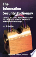 The Information Security Dictionary Book