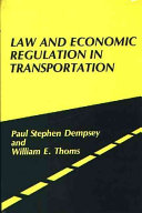 Law and Economic Regulation in Transportation