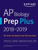 AP Biology Prep Plus 2018-2019 Pdf/ePub eBook
