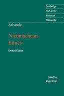 Aristotle  Nicomachean Ethics Book