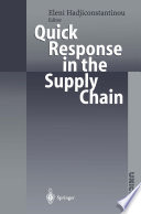 Quick Response in the Supply Chain Book