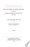 Rabelais Gargantua Pantagruel Book 2 3