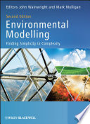 Book Cover: Environmental Modeling