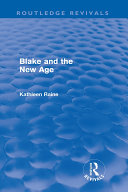 Pdf Blake and the New Age (Routledge Revivals)