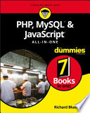 PHP  MySQL    JavaScript All in One For Dummies Book
