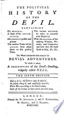 The Political History of the Devil     The Sixth Edition Book