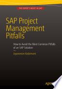SAP Project Management Pitfalls Book