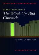Pdf Haruki Murakami's The Wind-up Bird Chronicle Telecharger