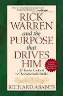 Rick Warren and the Purpose that Drives Him