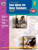 Pdf Fast Ideas for Busy Teachers: Math, Grade 5