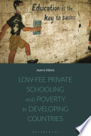 Low fee Private Schooling and Poverty in Developing Countries