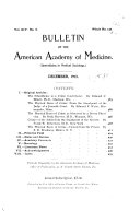 Bulletin of the American Academy of Medicine