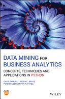 Data Mining for Business Analytics Pdf/ePub eBook