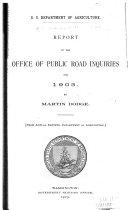 Report   U S  Bureau of Public Roads