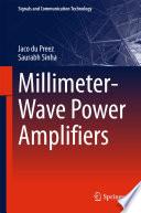Millimeter Wave Power Amplifiers
