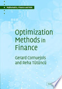 Optimization Methods in Finance