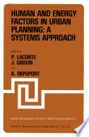 Human And Energy Factors In Urban Planning A Systems Approach