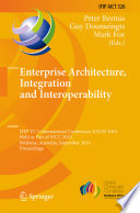 Enterprise Architecture  Integration and Interoperability Book