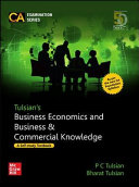 Tulsian   s Business Economics and Business   Commercial Knowledge for CA Foundation