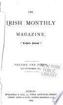 The Irish Monthly Magazine of Politics and Literature      Book