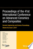 Proceedings of the 41st International Conference on Advanced Ceramics and Composites