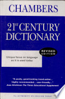 """""""Chabers 21st Century Dictionary"""""""