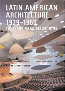 Latin American Architecture  1929 1960 Book