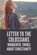 Letter To The Colossians