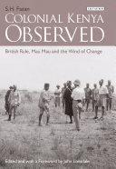 Pdf Colonial Kenya Observed Telecharger