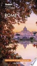 Fodor's Rome 25 Best 2020