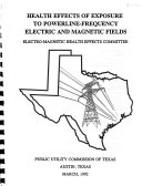 Health Effects Of Exposure To Powerline Frequency Electric And Magnetic Fields