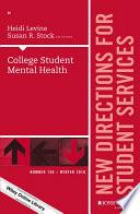 College Student Mental Health