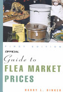 Official Guide To Flea Market Prices