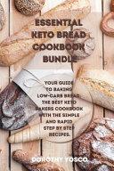 Essential Keto Bread Cookbook Bundle Book