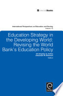 Education Strategy in the Developing World